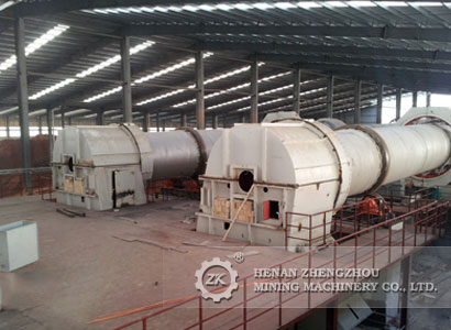 zk energy saving rotary kiln Dolomite rotary kiln is the most suitable equipment for produce magnesium the new type energy-saving rotary kiln designed by zk corp has own patent and formed dolomite calcination standard for magnesium industry in china.