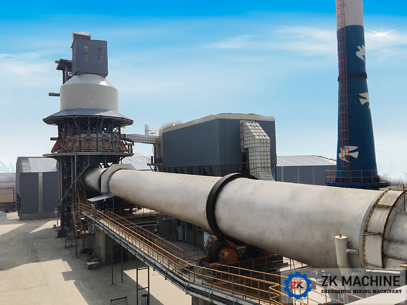 2.5×50 Large Capacity Activated Carbon Rotary Kiln for
