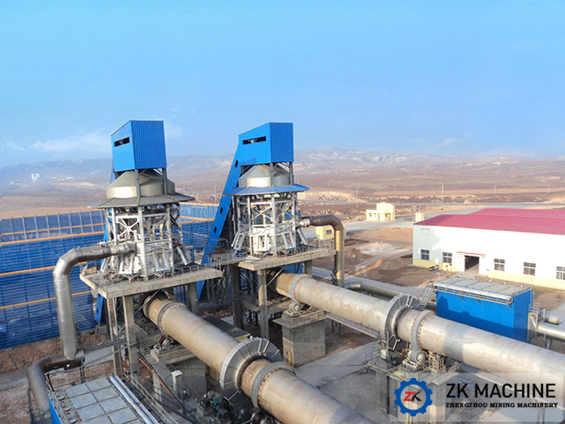 China 100-600tpd Active Lime Calcining Kiln - China Lime