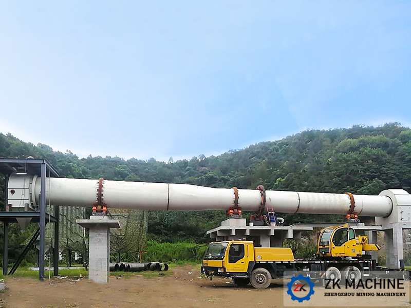 High Automation Calcination Rotary Kiln For Lime Dolomite